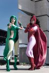 Classic Polaris and Scarlet Witch by KOCosplay