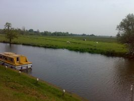 Cycling to Ely 1 by Carnivius
