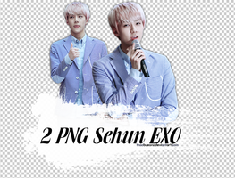 2 PNGs Sehun @ Yeouido Fansign by THAObyeons