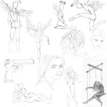 Sketches and Linearts by Annanonyma