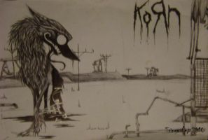 KoRn Oilwolf Poster by LittleSkrillexKid