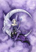 Purple Moon by MeredithDillman