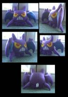 Crobat Plush by Ashayx