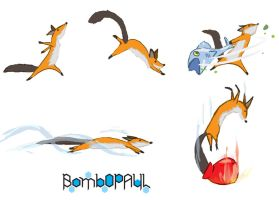 Awesome Fox by BombOPAUL