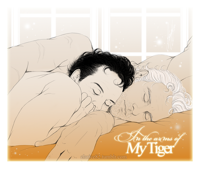 Mormor - In the arms of my Tiger by RedPassion