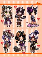 ChibiAdopts-15: CLOSED by mostlyniceAdopts