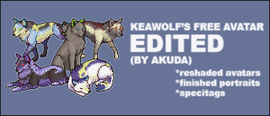 Keawolf's freebie - edited by stellified