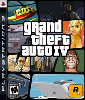 Grand Theft Auto IV Box Art by SlimTrashman