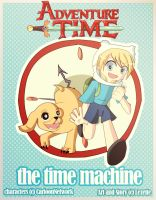 the time machine   Chaper 1 cover by Lezzette