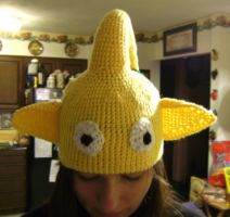 Yellow Pikmin Hat by MaculaMaster734
