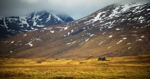 Meanach Bothy, Scotland by younghappy