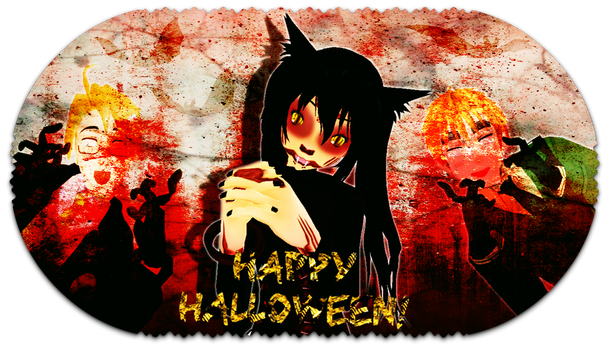 HAPPY HALLOWEEN, AWESOME PEOPLE! by Mew-Ayame