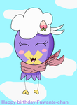 Fio the Drifloon by pikachuandpichu106