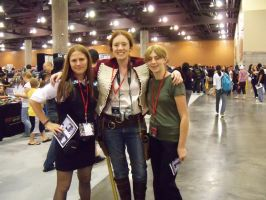 Amy, John, and Jenny at PCC by TimelordWitch10