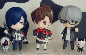 Nendoroids from Persona Series by handockgirl