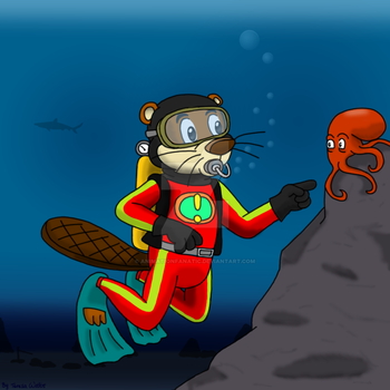 Greg Beaver Goes Diving by AnimationFanatic