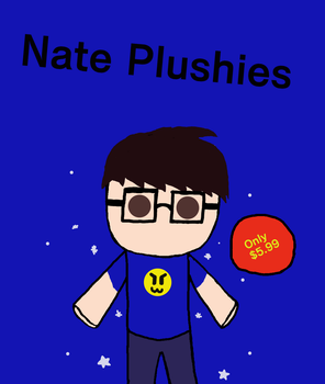 Nate Plushies (eeh, might redo this) by zombienateisback