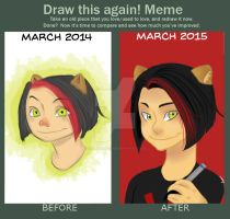 Draw it again! meme by farahatiqah