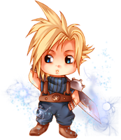 Cloud Chibi by AikaXx