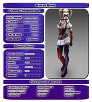 Harley Quinn Stats by vipplayer