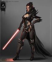 4 1She-Lord Sith 2 by YENIN