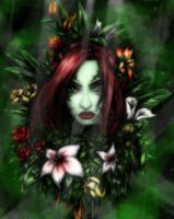 Poison Ivy -Colored by PoisonJoshy