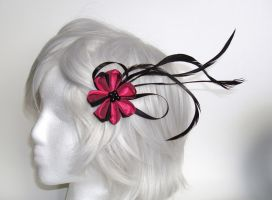 Floating Wings Pink Kanzashi 2 by smallrinilady