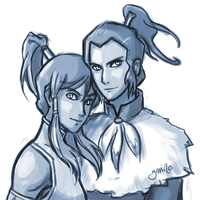Korra and ...? by Yamino