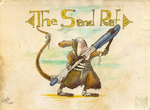 The Sand Rat by MarkerChief