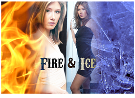 Fire And Ice Wallpaper by INVINCIBLE-BTS