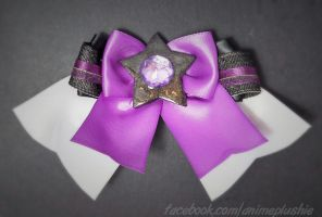 Steven Universe - Amethyst Hair Bow by sakkysa