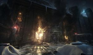 Batman - Arkham Origins: BLACKGATE ENTRANCE RIOT by inetgrafx