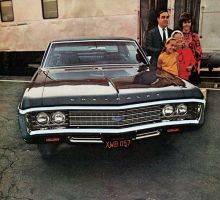 After the age of chrome and fins : 1969 Chevrolet by Peterhoff3