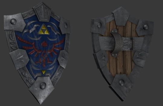 Hylian Shield - Reimagined by Overmind5000