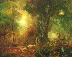 Forestlight18 Oil Nikon by DavidLadmore