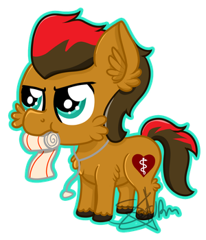 Chibi Valor by SaturnStar14