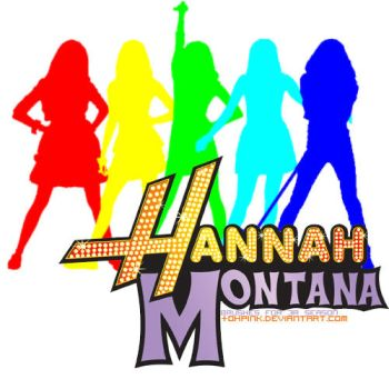 Hannah Montana brushes by ohpink