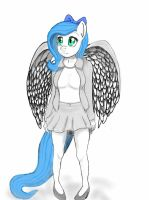 Minty blue (request) by zachthehedgehog97-2