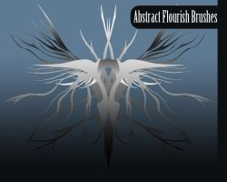 Abstract Flourish Brushes by truefreestyle