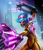 Vi League of Draven! by armice