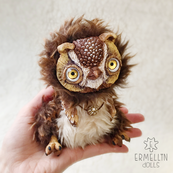 brown owly by Ermellin