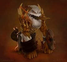 Heroes of Newerth: Garbagore by holdctrl