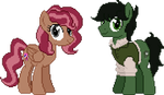 P.Comm - Couple pixel by StarGureisu