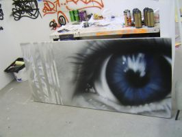 eye study canvas 2 by DONES1