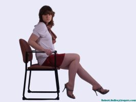 Danielle Seated by chribob