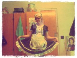 Maid Dress by NeonEmpathy
