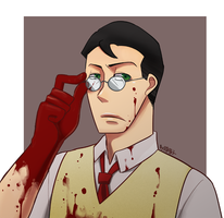 TF2_Bloody Medic by aulauly7
