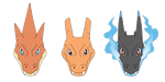 Charizard's Forms by IcelectricSpyro