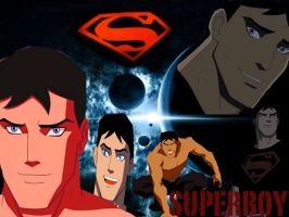 Young Justice-Superboy by camacam11