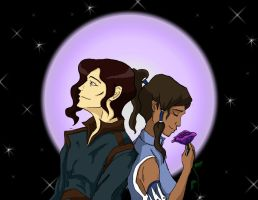 Tahno and Korra by marigoldc4ever
